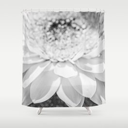 Anniversary Gift, Photography, Photo Print, Fine Art Photography, White Flower, Fine Art Shower Curtain