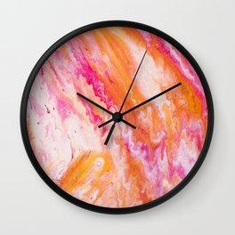 Fluid Expressions - Sorbet Wall Clock