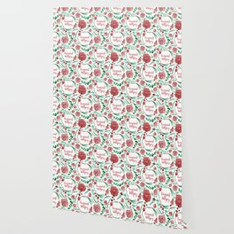 Feminist Killjoy - A Floral Pattern Wallpaper