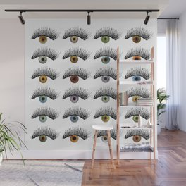 Hypnotic Eyes Wall Mural