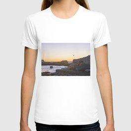 Winter sunset at Lanescove T-shirt