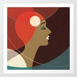 Venn Deco (Part V) Art Print