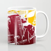 law Mugs featuring The Law by Steel Graphics