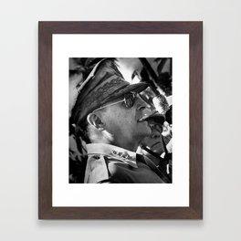 General Douglas MacArthur. Framed Art Print