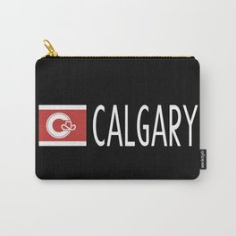 Calgary: Calgarian Flag & Calgary Carry-All Pouch