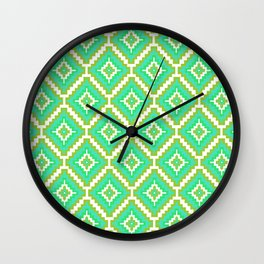 Indi-abstract#10 Wall Clock