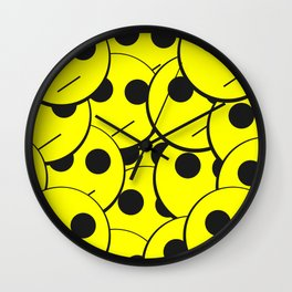Swarm of Indifference Wall Clock