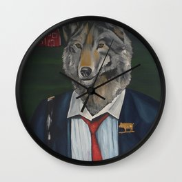 Business Time Wall Clock