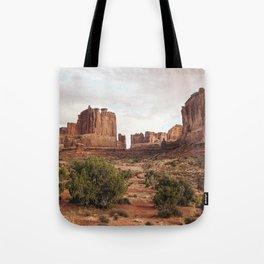 Desert Red Utah Rocks Tote Bag