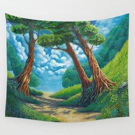 Sunny way Wall Tapestry