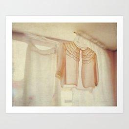 Whisper Softly Art Print