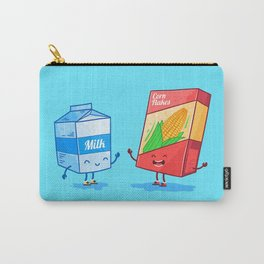 Milk and Corn (Best friends. Character set.) Carry-All Pouch