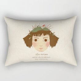 AMELIE POULAIN Rectangular Pillow
