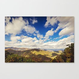Mountaintop View Canvas Print