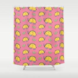 Taco Bellephant Shower Curtain