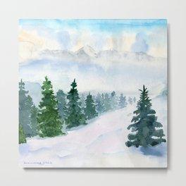 Winter fairy tale Metal Print