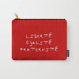 motto of France 4  liberté, égalité, fraternité. Carry-All Pouch