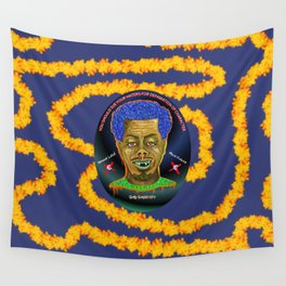 The French Face of Money Wall Tapestry
