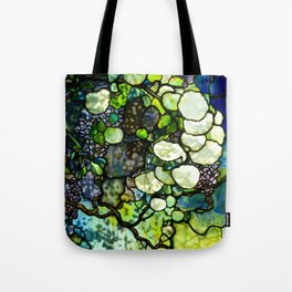 Louis Comfort Tiffany - Decorative stained glass 7. Tote Bag