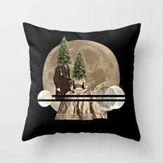Mr & Mrs Christmas Throw Pillow