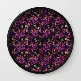 intense color  Wall Clock