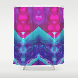 mirror 4 Shower Curtain