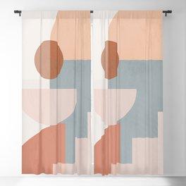 Minimal Geometric 95 Blackout Curtain