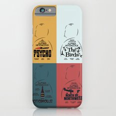Four Hitchcock Movie Posters in One (Psycho, The Birds, North by Northwest, Notorious) iPhone 6s Slim Case
