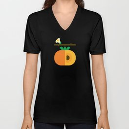 Fruit: Persimmon Unisex V-Neck