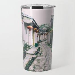 chinese ancient village Travel Mug