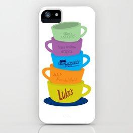 Stars Hollow Mugs iPhone Case