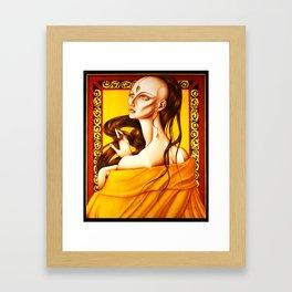 The high Priestess Framed Art Print