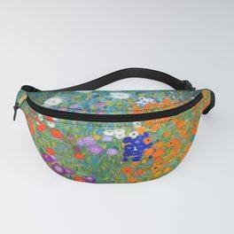 Gustav Klimt - Cottage Garden Fanny Pack
