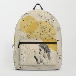 girl with dandelion Backpack
