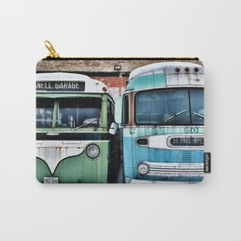Old Buses 2 Carry-All Pouch