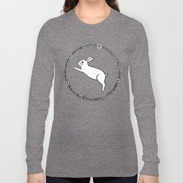 Hopping bunny Long Sleeve T-shirt