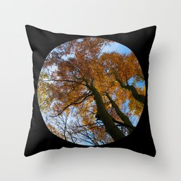 Tree from below Throw Pillow