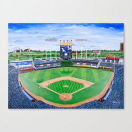 An Amazing Game at the K Canvas Print