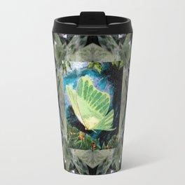 Luna Moth In Ivy Travel Mug