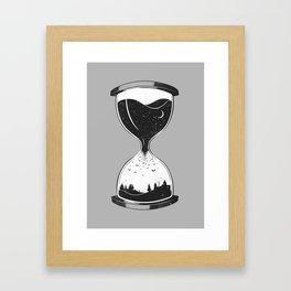 As Night Falls Framed Art Print