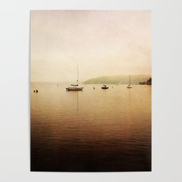 one foggy morning Poster