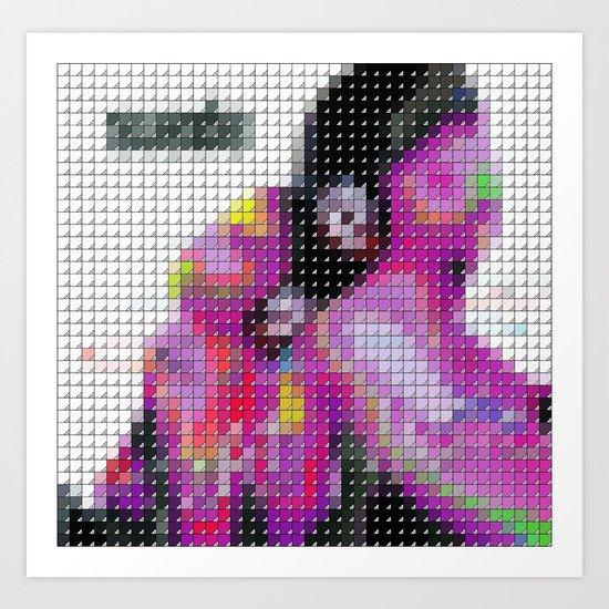Suede - Head Music - Pantone Pop Art Print