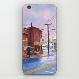 Crossing, C-ville, VA iPhone Skin