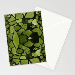 Mosaic - Fern Green Stationery Cards