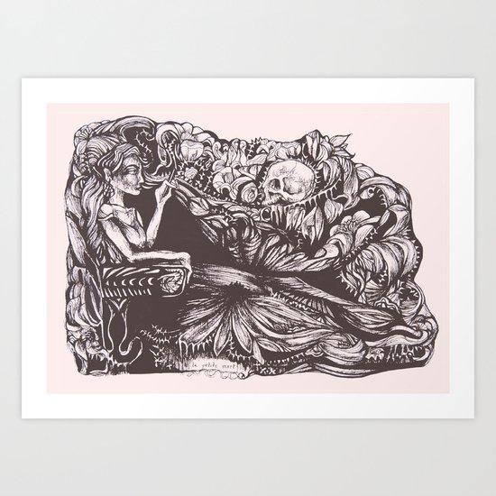 La Petite Mort Art Print