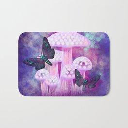 Twilight Moths Bath Mat
