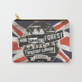 God save the forest Carry-All Pouch