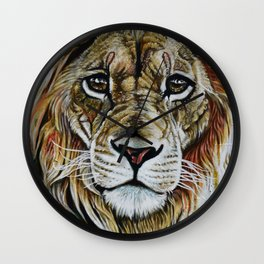 Beauty Lion Wall Clock