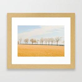 Wistful Days Framed Art Print