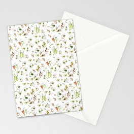 flower's seeds and seedpods Stationery Cards